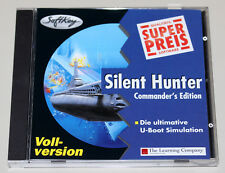 Silent Hunter-Commandant 's Edition-PC CD ROM-sous-marin Simulation