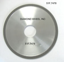 """Super Abrasive DIAMOND 5"""" Chainsaw Wheels for 1/2 Pitch Carbide Tipped Chains"""