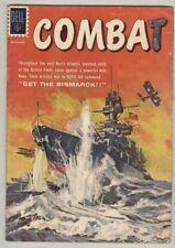 Combat #1 October 1961 G/VG Get the Bismark