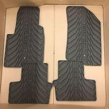 Dodge Caliber Dark Slate Gray All Weather Rubber Floor Mats NEW OEM MOPAR 07-12
