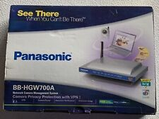 New (Open Box) Panasonic Network Security Camera Router Model Bb-Hgw700A