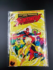 Captain Paragon and the Sentinels of Justice #1 AC comics 1985