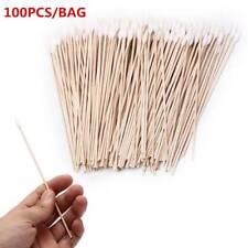 100Pcs 6 Inch Gun Cleaning Tool Cotton Swabs,Large Tapered Swabs Gun Clean Brush