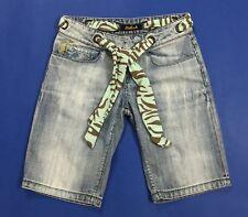 Killah shorts jeans donna usato bermuda cintura hot sexy w25 tg 39 denim T4018