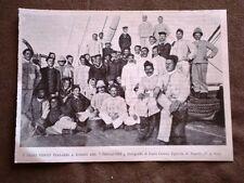 Guerra in Cina nel 1900 Primi feriti d'Italia a bordo della nave Singapore