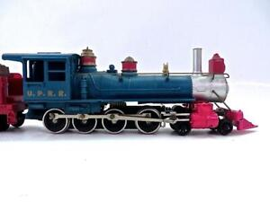 HO TYCO  Union Pacific 4-8-0 Old Time Steam Loco &Tender Excellent No Reserve (4
