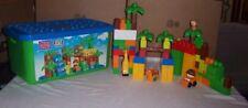 Mega Bloks 6628 First Builders Safari Large Tub Town Ages 1-5 Jungle Animals