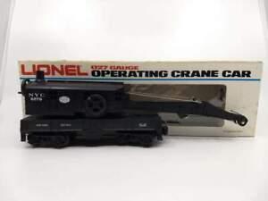 Lionel 6-6579 New York Central 4-Wheel Crane Car NIB NOS  # 579