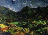 ORIGINAL PAINTING  Acrylic On Canvas ' Snowdonia '40x30cm