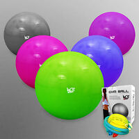 We R Sports Fitness Exercise Swiss Gym Fit Yoga Core Ball 65CM Abdominal Back