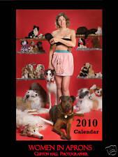 Women In Aprons 2010 Calendar with Borzoi