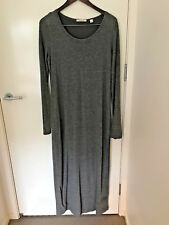 Country Road Grey fully lined long dress S14(L)