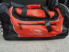 New listing Circuit Of The Americas Duffle Gym Bag New Austin Texas Formula 1 Black Red