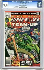 Super - Villain Team-Up   #11   CGC   9.4   NM    off - white to white  pages