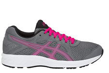 ASICS Women's Jolt 2 Running Shoes 8m Steel Grey/pink Rave Womens