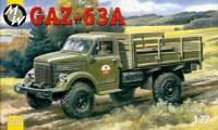 Military Wheels 7226 - 1/72 - Russian Gaz-63A Soviet Truck Plastic Model Kit