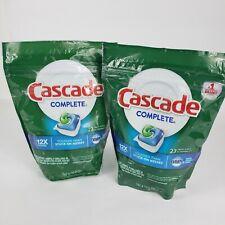 2 Bags Cascade Complete ActionPacs 12X Power Fresh Scent 23 ct/bag