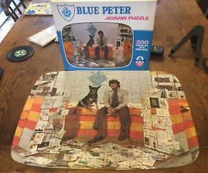 Blue Peter Vintage Arrow Jigsaw Puzzle 200 Pieces No 4343 Complete Used BBC 1971