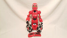 WowWee Tribot Interactive Talking Companion Red Rolling Robot w. Remote Control