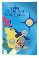 1994 33rd Charlton Coins Banknotes Medals Tokens Canada US Guide Catalog J432