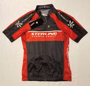 NWT Lance Sobike Sterling Fushion-io Shimano Full Zip Men's Cycling Jersey Sz M