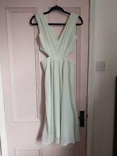 ASOS midi dress 6 XS mint green