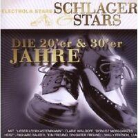 COMEDIAN HARMONISTS/+ - SCHLAGER&STARS:DIE 20ER&30ER JAHRE CD SCHLAGER NEU
