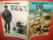 Uniforms Illustrated 1, US SPECIAL FORCES of World War Two