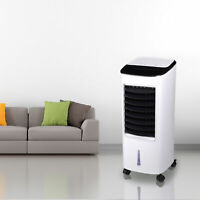 Portable Air Cooler Humidifier with Remote Control Ice Pack Energy Saving Indoor