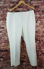 Vince Camuto Essentials New Ivory Dress Pants Size 14W
