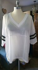 Victoria secret pink large black gold and silver detail  Football Jersey Shirt