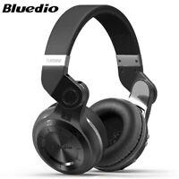 Bluedio Turbine T2S Bluetooth 5.0 Headphone Wireless With Mic FM Stereo Headset