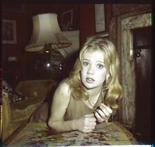 Hayley Mills Walt Disney era rare candid at home Original 2 1/4 Transparency