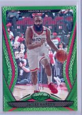 2020-21 PANINI CERTIFIED JAMES HARDEN GREEN MIRROR REFRACTOR HOLO 1/5 FIRST#