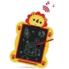 Tablet Lcd Recargable borrable Música Electrónica De Escritura Almohadilla De Dibujo De León Niños