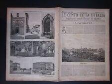 1895 MACERATA Le Cento Città d'Italia Sonzogno Editore riccamente illustrate