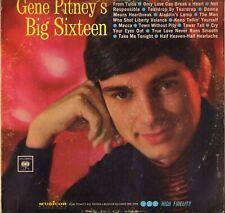"GENE PITNEY ""BIG SIXTEEN"" POP ROCK 60'S LP COLUMBIA MM 2008"