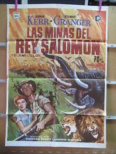 2983    LAS MINAS DEL REY SALOMON STEWART GRANGER