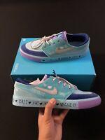Nike SB Zoom Janoski Doernbecher Freestyle Blue Glaze CV2365-400 Men's Size 10.5