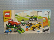 LEGO® Creator Bauanleitung 4635 Fun with Vehicles ungelocht instruction B5356