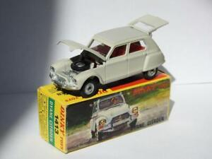 FRENCH DINKY TOYS No.1413 VINTAGE 1969-71 BOXED DIECAST CITROEN DYANE VN MINT