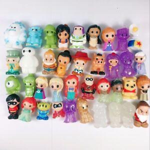 random 5X Ooshies Disney series 1 Monster Princess Figure toy doll -no repeat