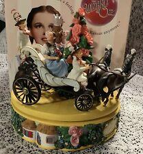 Wizard of Oz San Francisco Music Box Munchkinland Carriage. Incredible Piece Nib