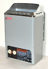 2KW 120V COMPACT MINI TYPE WET&DRY TURKU SAUNA SPA HEATER STOVE BUILT-IN CONTR
