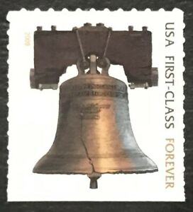 2010 Scott #4437 - Forever - LIBERTY BELL - ATM Booklet Stamp - Copper - Mint NH