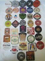 35 Craft Beer Coasters Wholesale Lot Brand New Beer Brew Pub Brewery Coasters