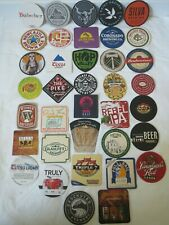 35 Craft Beer Coasters Wholesale Lot Brand New Beer Brew Pub Brewery Coasters