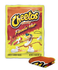 Flamin Hot Cheetos Fan Art Blanket ( KIDS / MEDIUM / LARGE )