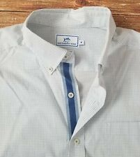 Southern Tide Men's Classic Fit Long Sleeved Shirt Sz Medium Check