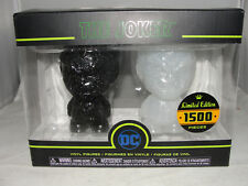"Funko Hikari DC Comics Batman Black & White Joker 4"" Vinyl Figure Set-New"